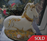 Royal Crown Derby Paperweight - Mythical Unicorn L/E