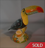 Royal Crown Derby Paperweight - Rio Toucan
