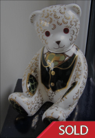 Royal Crown Derby Paperweight - Harrod`s Teddy Bear Limited Edition
