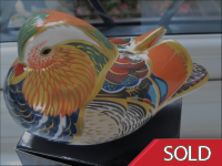 Royal Crown Derby Paperweight - Mandarin Duck