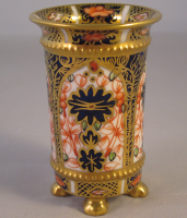 Miniature Royal Crown Derby Miniature Spill Vase