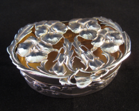 Edwardian Silver Pot Pourri Box by William Comyns London 1907