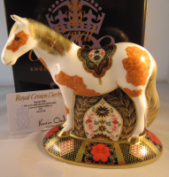 Royal Crown Derby Paperweight - Epsom Filly Limited Edition