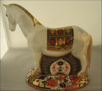 Royal Crown Derby Paperweight- Appleby Mare Limited Edition