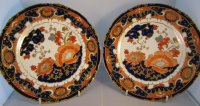 Pair Royal Crown Derby Dessert Plates