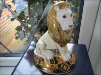 Royal Crown Derby Paperweight - Heraldic Lion