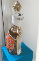 Royal Crown Derby - Siamese Royal Cat