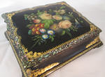 Antique Victorian Papier Mache Lap Desk
