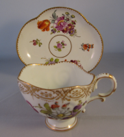 Dresden Cabinet Cup and Saucer